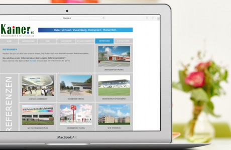 Homepage Design KMU