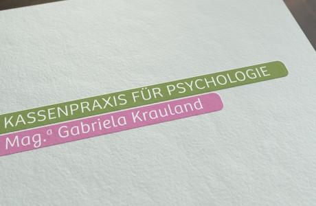 Gestaltung Wort-Logo Therapeut